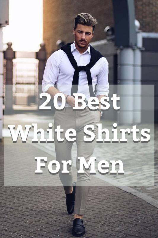 Best White Shirt For Men 1