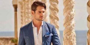 Fashion ideas of men summer beach wedding guest outfits