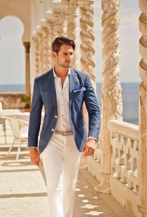 bbc4c90ff849 22 Summer Beach Wedding Guest Outfits for Men