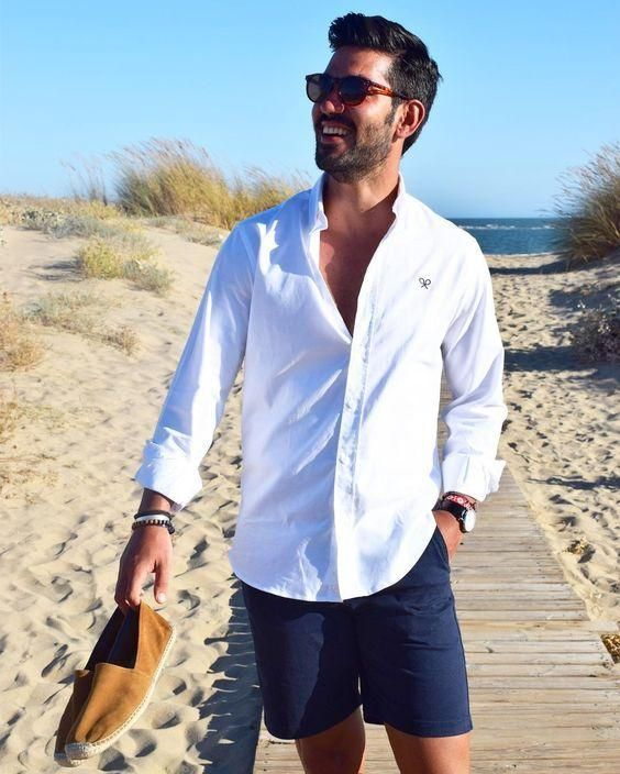 22 Summer Beach Wedding Guest Outfits For Men