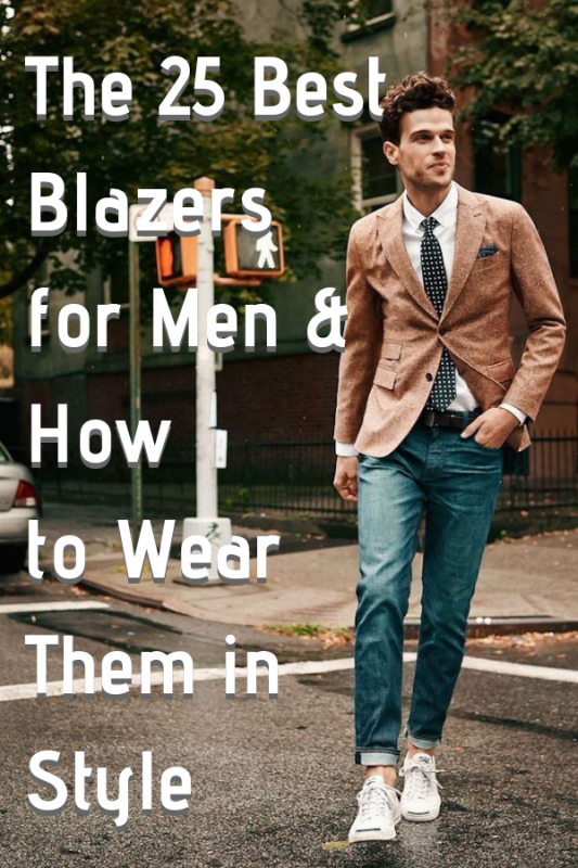 The 25 Best Blazers for Men & How to Wear Them in Style 1