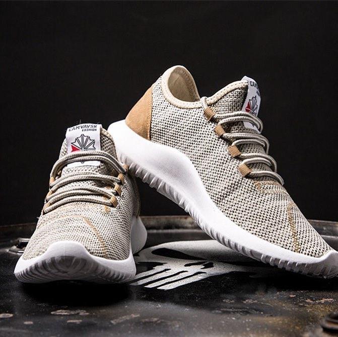Golden training shoes