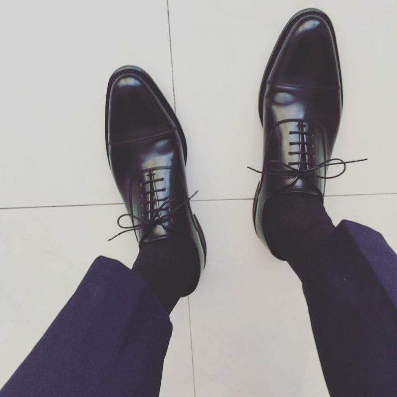 Oxford leather shoes 7