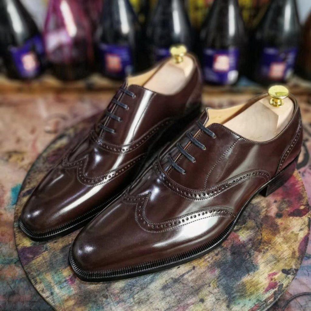Brogue dress shoes