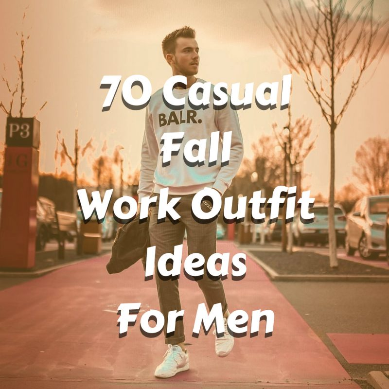 Men's Casual Fall Workwear Ideas 2018. BALR. white sweater, chinos pants and white sneaker 1