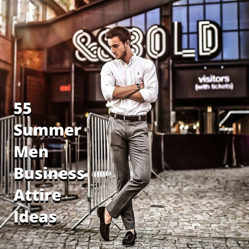 Best Summer Men Business Attire Ideas