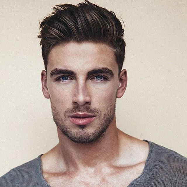 Men quiff hairstyle