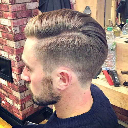 Men tapered haircut
