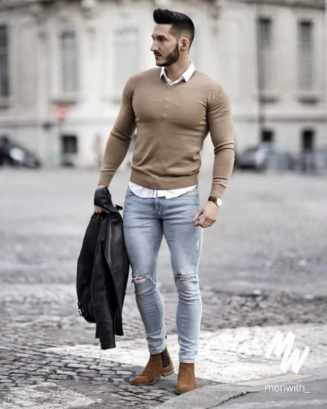 Casual Fall Work Outfit Ideas For Men 5