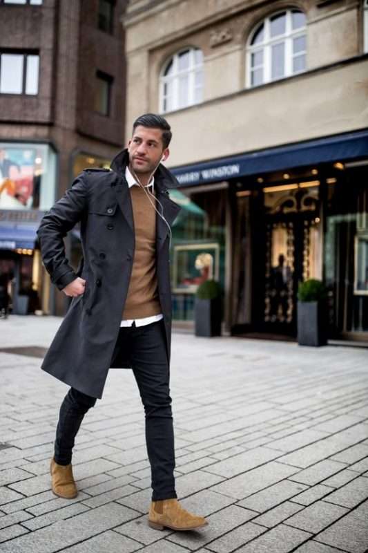 Casual Fall Work Outfit Ideas For Men 47