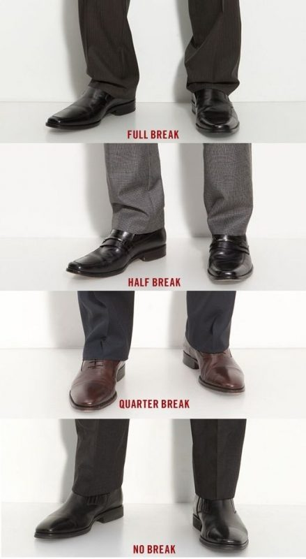 Wear no-break trousers