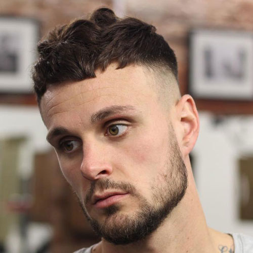 French Crop High Bald Fade 1