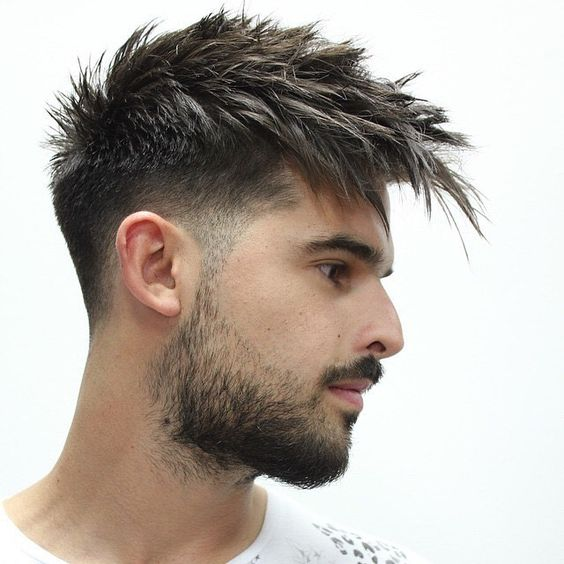 Low Bald Fade Quiff 1