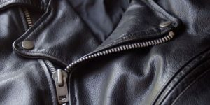 Cleaning guidelines for men black leather jackets feature
