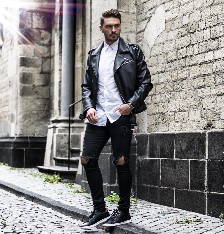 50 Best Fall Leather Jackets For Men 2018 - Urban Men Outfits
