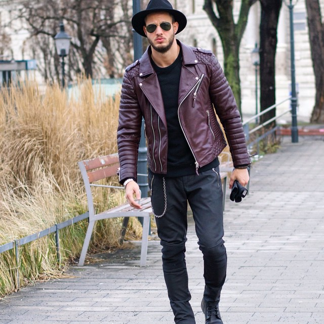 a6cb340873dc6 50 Best Fall Leather Jackets For Men 2018 - Urban Men Outfits
