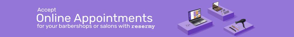 Resermy Salon Spa Barber Online Appointment App