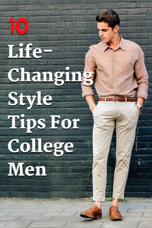 10 Best Fashion Tips For Young Guys Pinterest 1