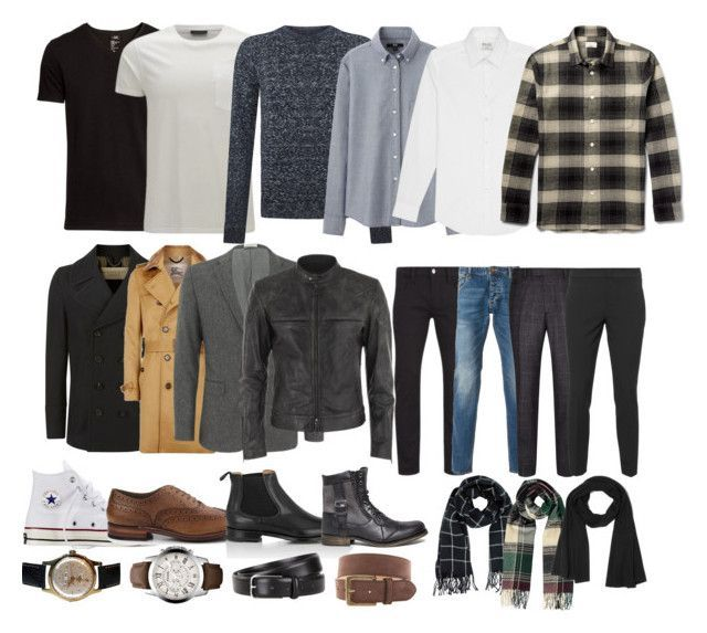Men's capsule wardrobe with essential outfits and accessories 1