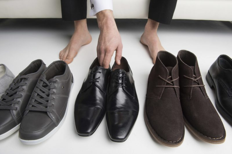 Exchange footwear with Chelsea boots or chukka boots occasionally 1