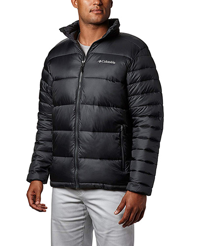 Black Columbia Men's Frost Fighter Insulated Jacket 1