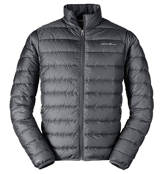 Black Eddie Bauer Men's CirrusLite Down Jacket 1