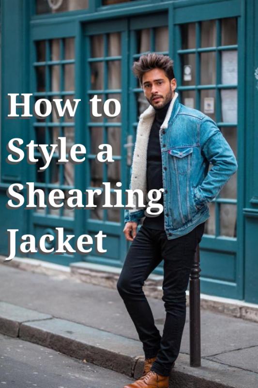 60 best ways to wear a shearling jacket 1