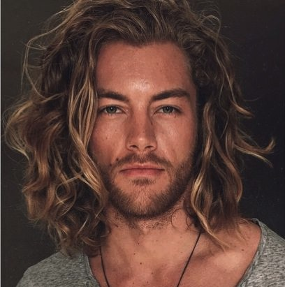 Long Wavy Hair 1