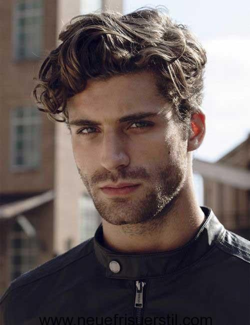 Hairstyles For Men With Curly Hair Long 79