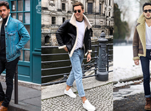 How to Wear Men's Shearling Coat | Men's Winter Fashion Trends 1
