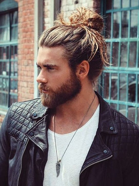 Man Bun + Beard 1
