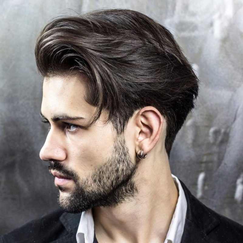 Men S Winter Hairstyles Medium Long Men S Haircuts
