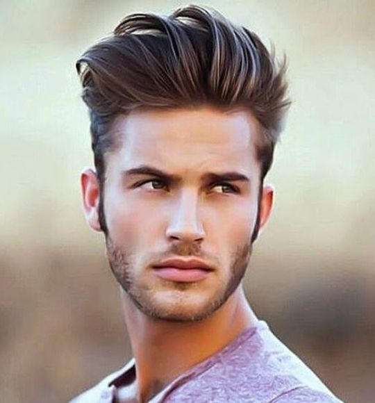 High Quiff + Taper Cut 1