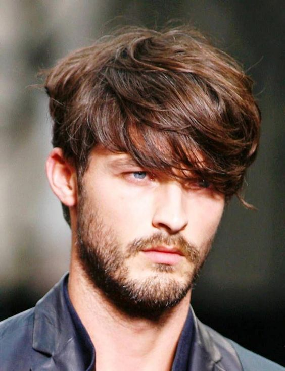 Mid-Length Side Swept Fringe 1