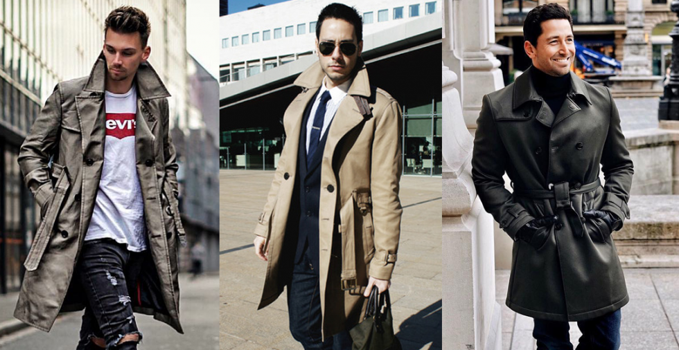 How to Pick the Trench Coat? A Complete Buyer's Guide For Mens Winter Coat Collection 1