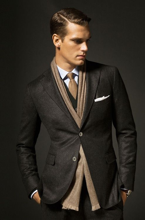 The Drape Scarf Knot for Men 1