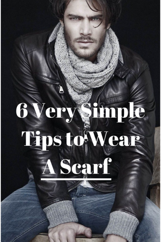 6 Simple Techniques to Tie a Scarf for Men 1
