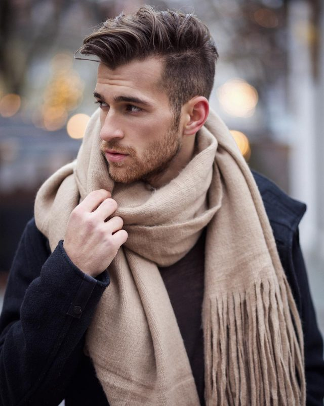The Once-Around Scarf Knot for Men 1