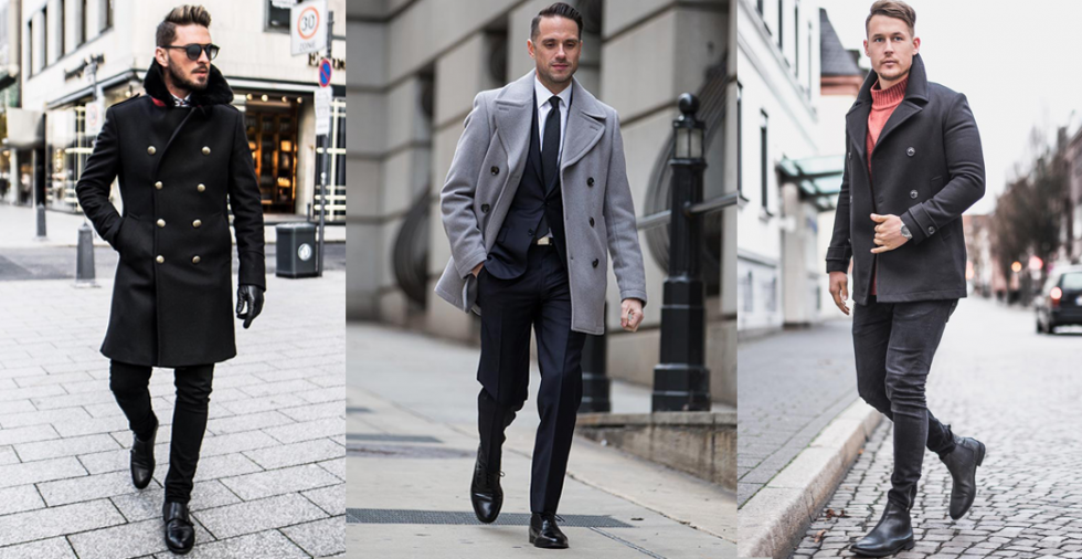 How to Wear Men's Peacoat in Style 1