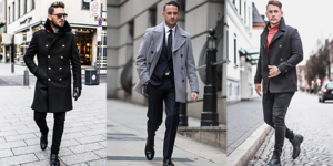 50 Peacoat Outfit Ideas for Men
