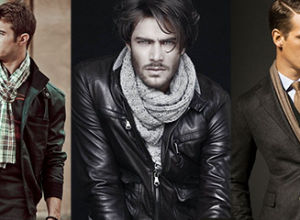 Men's Scarf: How to tie, How to Style