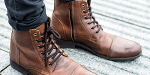 Casual Winter Work Outfit Styles with Mens Winter Boots Feature 1