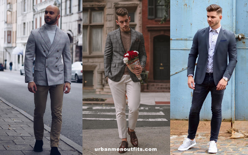 How to dress on Valentine's Day? Choose blazer or sports coat.
