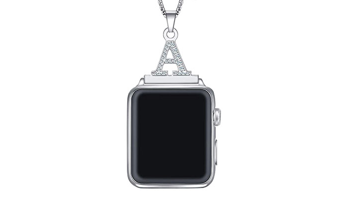 Callancity monogram Apple Watch necklace adapter