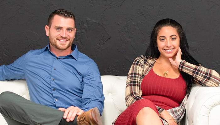 invisaWear founders Ray and Rajia