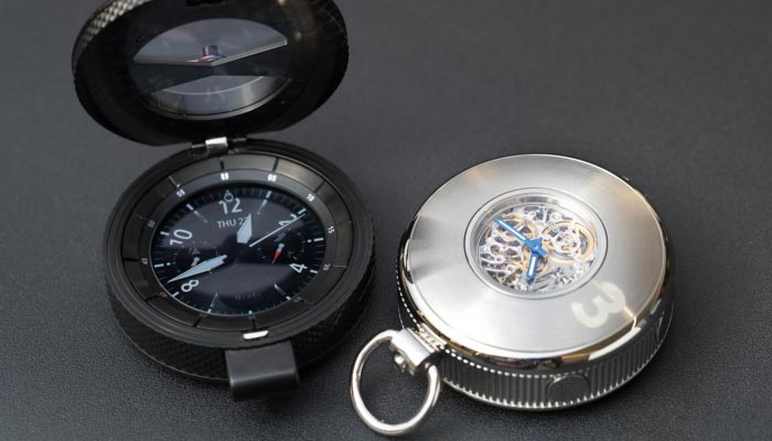 Samsung Gear S3 Concept Pocket Watch